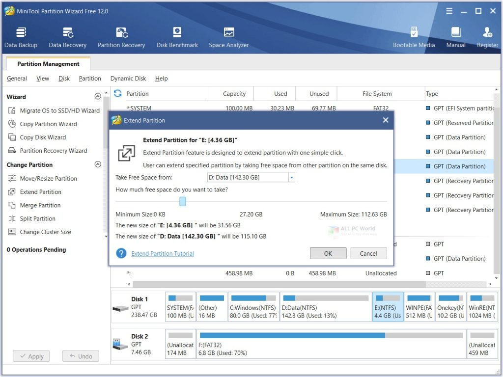 MiniTool Partition Wizard Pro Ultimate 2020 for Windows