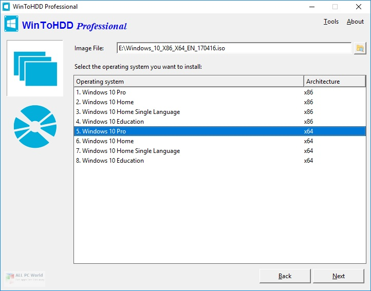 WinToHDD 5.0 Download