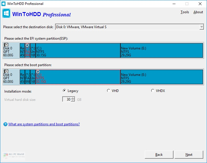 WinToHDD 5.0 Free Download