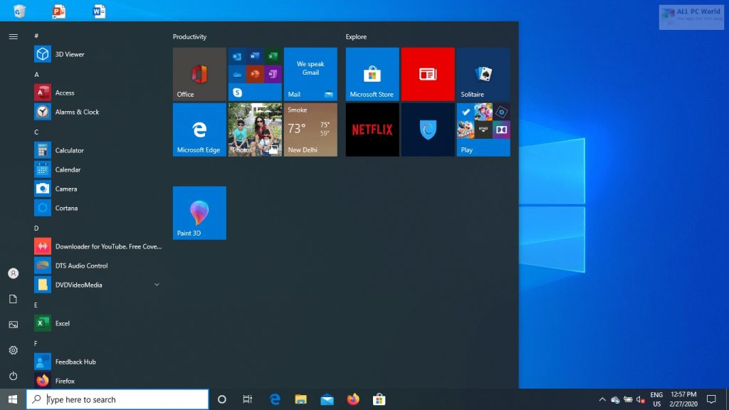 Windows 10 Pro 20H1 June 2020 Download