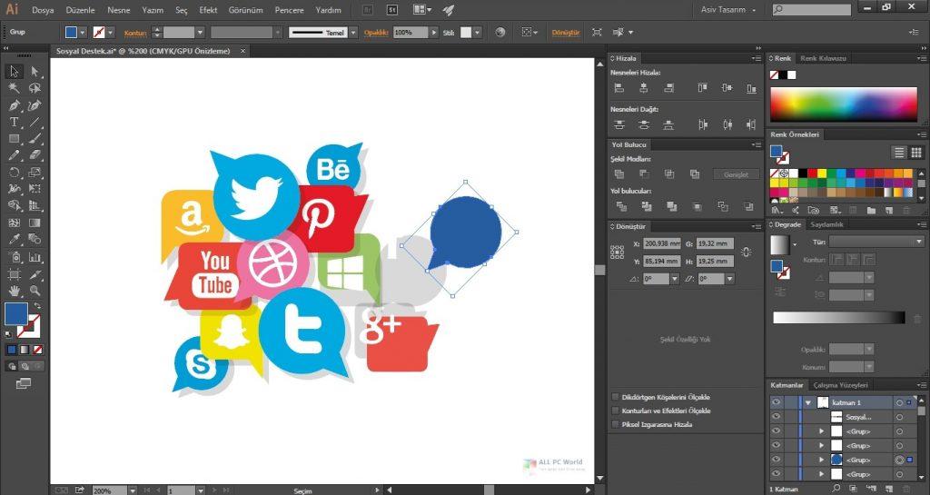 Adobe Illustrator CC 2020 for Windows 10