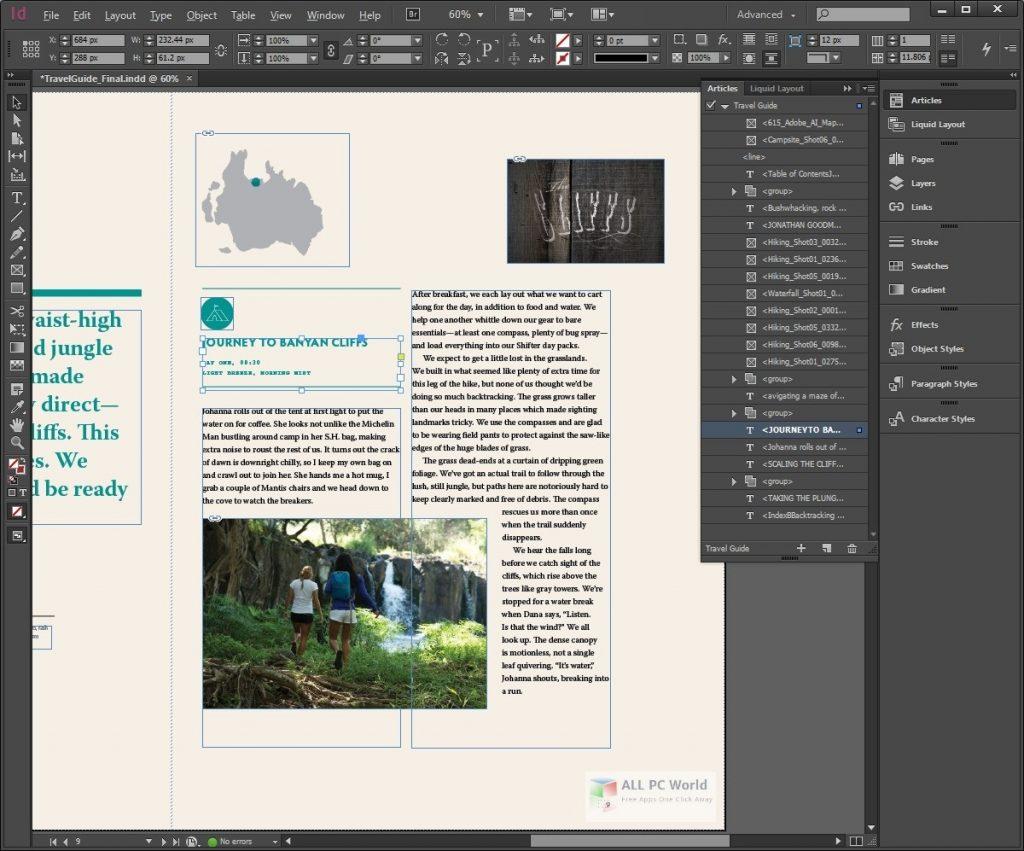 Adobe InDesign CC 2020 v15.1.1 One-Click Download