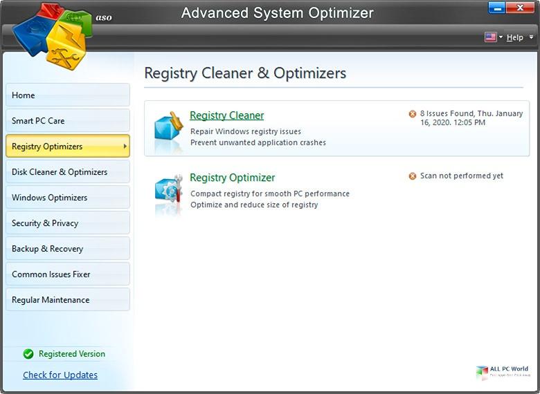 Advanced System Optimizer 2020 v3.9
