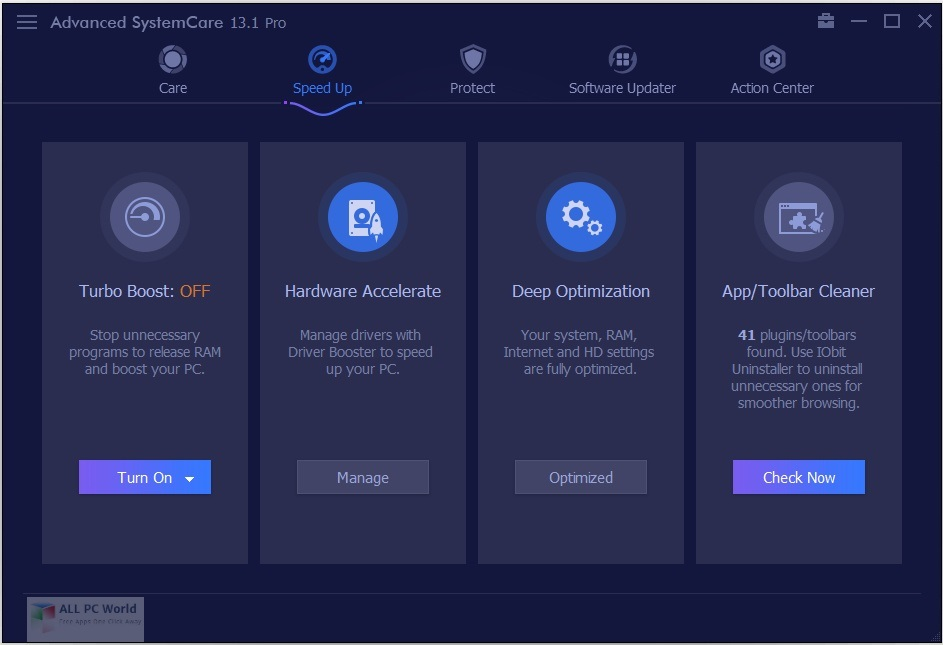 Advanced SystemCare Pro 2020 v13.6 Free Download
