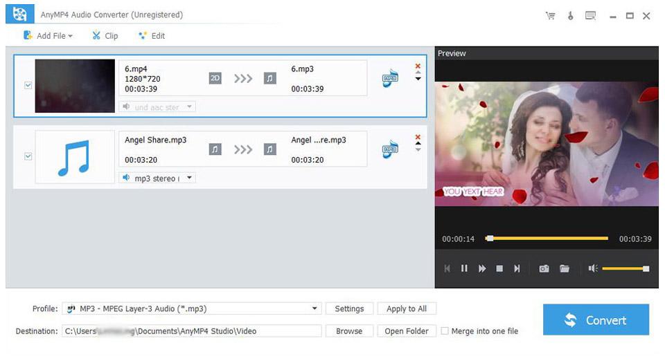 AnyMP4 Audio Converter 2020 v7.2 Download