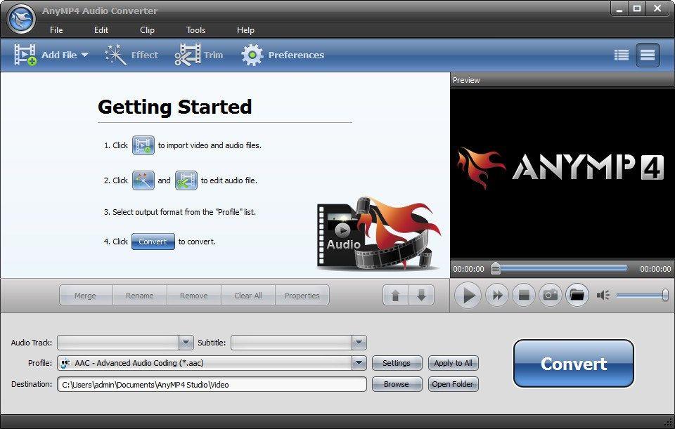 AnyMP4 Audio Converter 2020 v7.2 Free Download