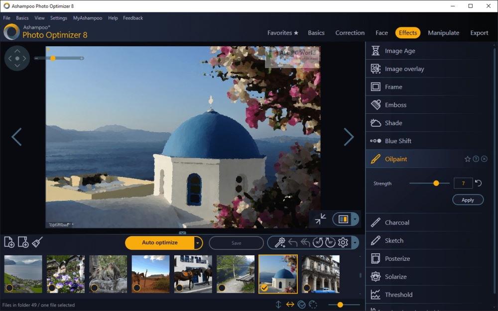Ashampoo Photo Optimizer 8.0 One Click Download