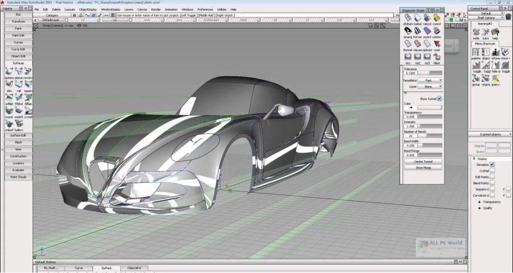Autodesk Alias Design 2021 for Windows 10