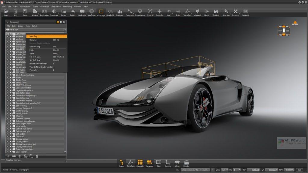 Autodesk VRED Design 2021 Download