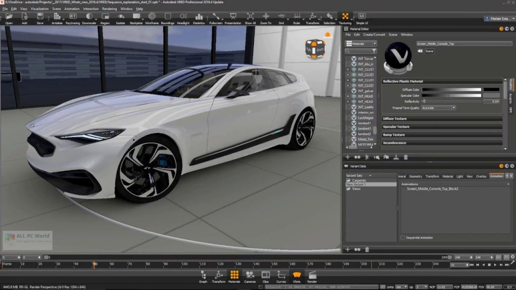 Autodesk VRED Design 2021 for Windows 10