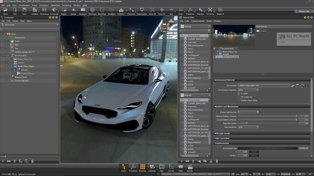 Autodesk VRED Professional 2021 for Windows 10