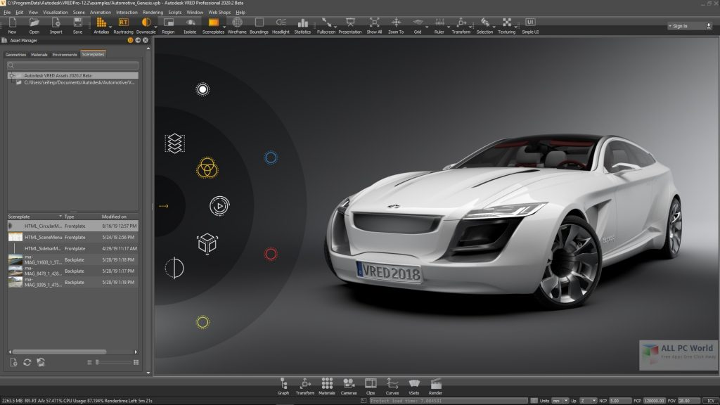Autodesk VRED Professional 2021 for Windows