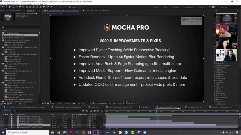 Boris FX Mocha Pro 2020.5 Download