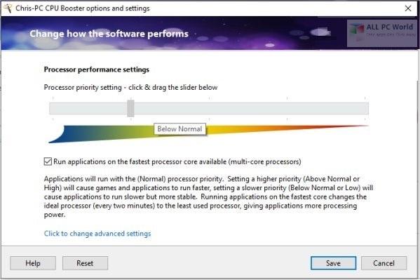 Chris-PC CPU Booster 2020 v1.06 Download