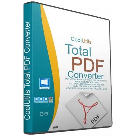 Download CoolUtils Total PDF Converter 2020 v6.1.0.29