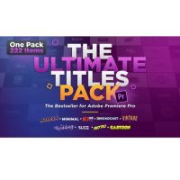 Download VideoHive The Ultimate Titles Pack for Adobe Premiere Pro
