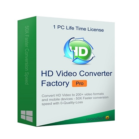 Download Wonderfox HD Video Converter Factory Pro 2020