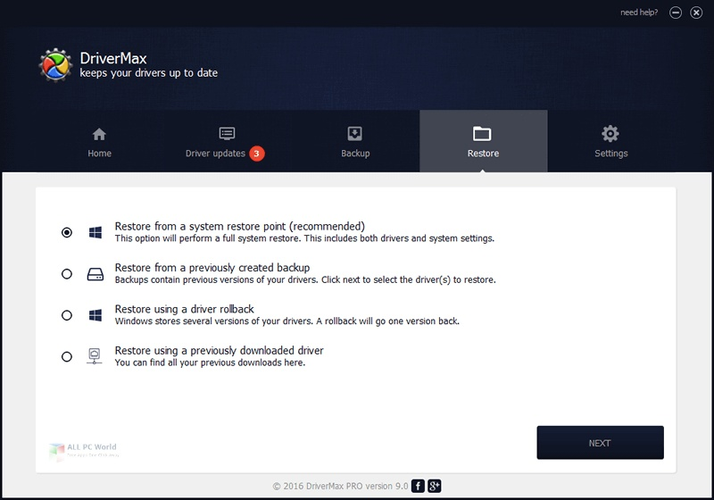 DriverMax Pro 2020 v11.18 Free Download