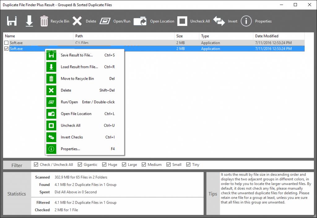Duplicate File Finder Plus 13.0 One Click Downloadv