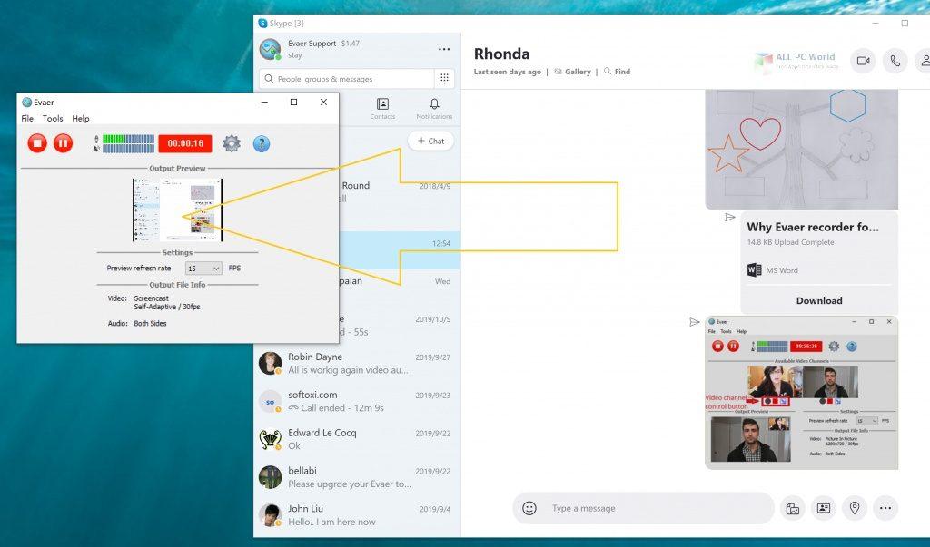 Evaer Skype video call recorder 2020 Full Version Download