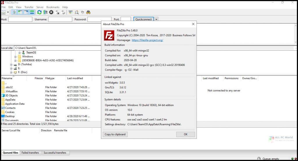 FileZilla 2020 v3.49 Download