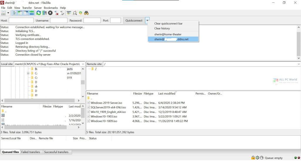 FileZilla 2020 v3.49 Installer