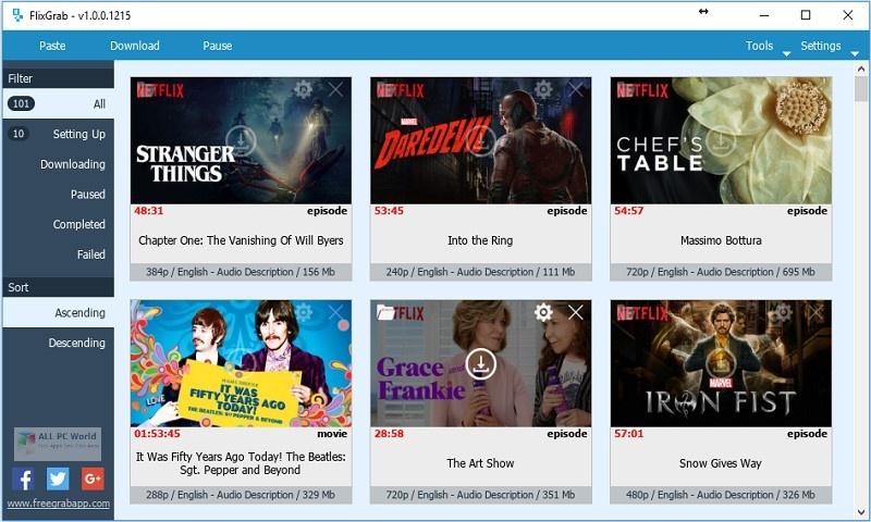 FlixGrab 5.0 Premium One-Click Download