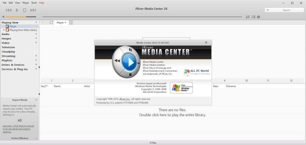 J. River Media Center 28 Free Download