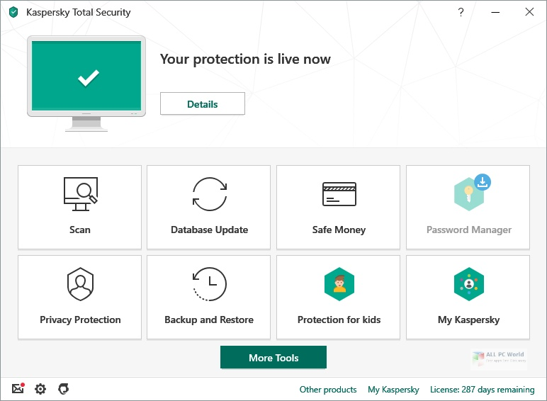 Kaspersky Total Security 2021 One Click Download