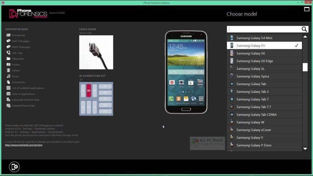 MOBILedit Phone Copier Express 2020 v4.6.1 for Windows 10