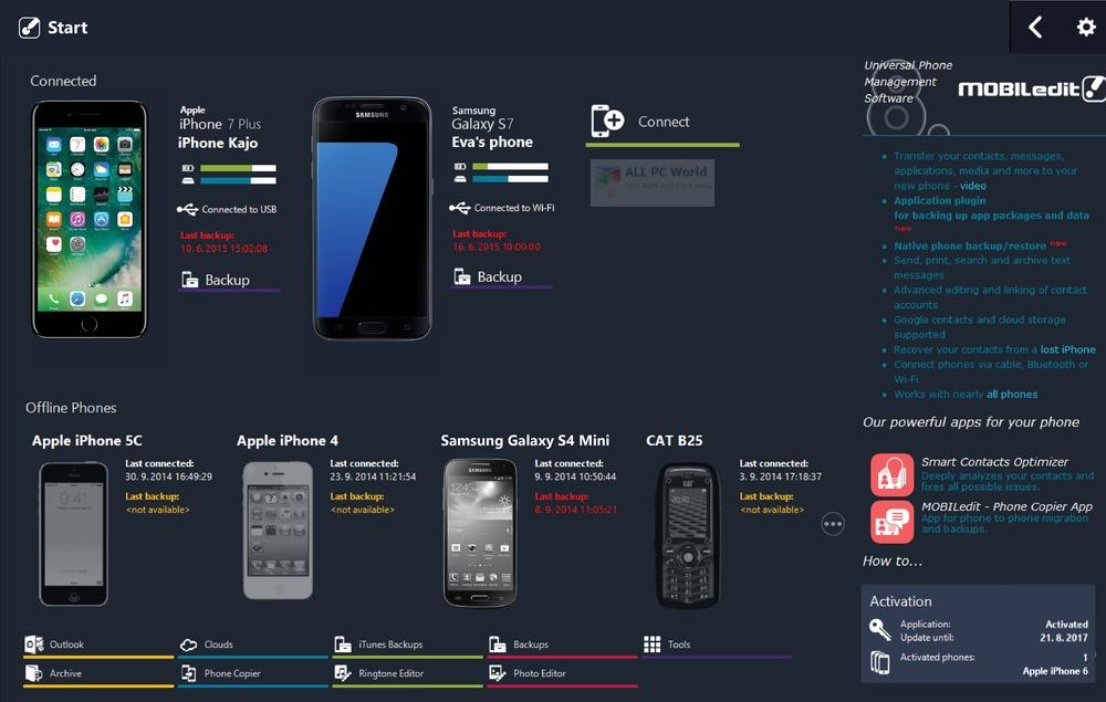 MOBILedit Phone Copier Express 2020 v4.6.1