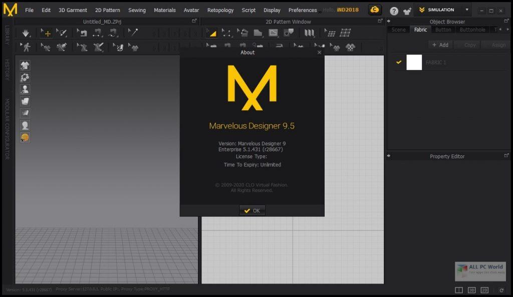Marvelous Designer 9.5 Enterprise Download