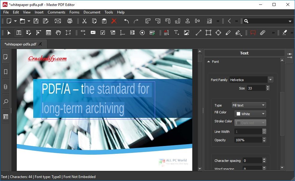 Master PDF Editor 2020 One-Click Download