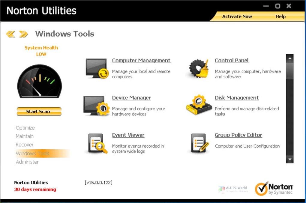 Norton Utilities Premium 2020 v17.0