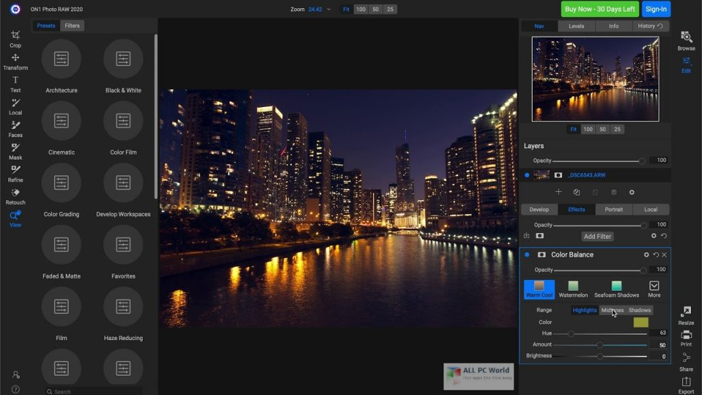 ON1 Photo RAW 2020.5 v14.5 Download