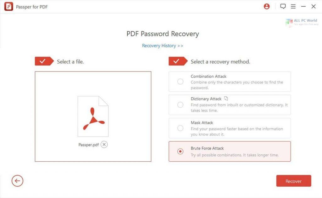 Passper for PDF 2020 v3.6