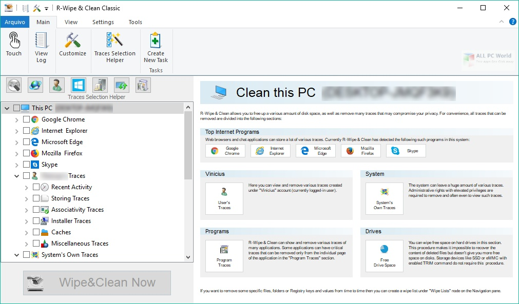 R-Wipe and Clean 2020 v20.0 Free Download