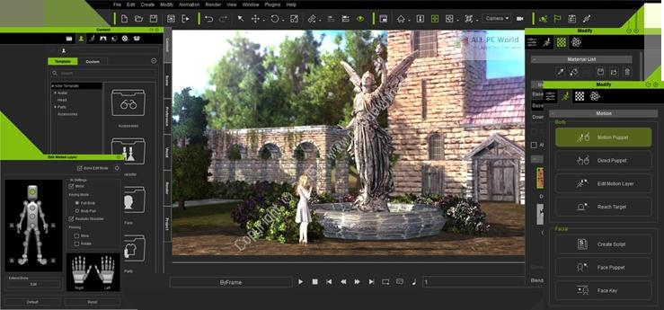 Reallusion iClone Pro 2020 v7.8