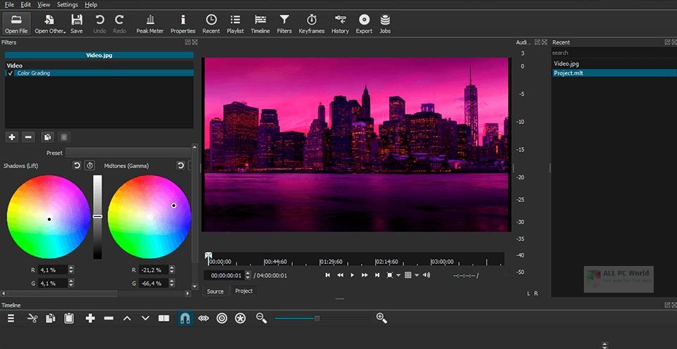 Shotcut 2020 One-Click Download
