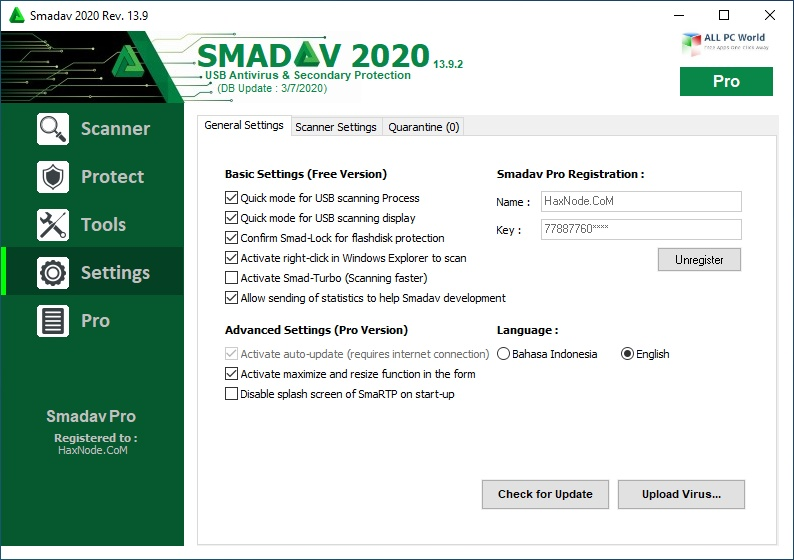 SmadAV Pro 2020 v14.6 Download