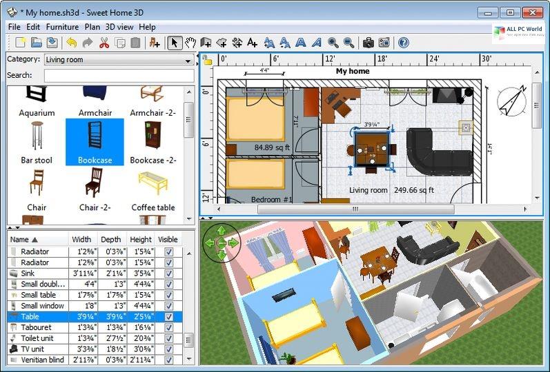 Sweet Home 3D 2020 v6.3 Download