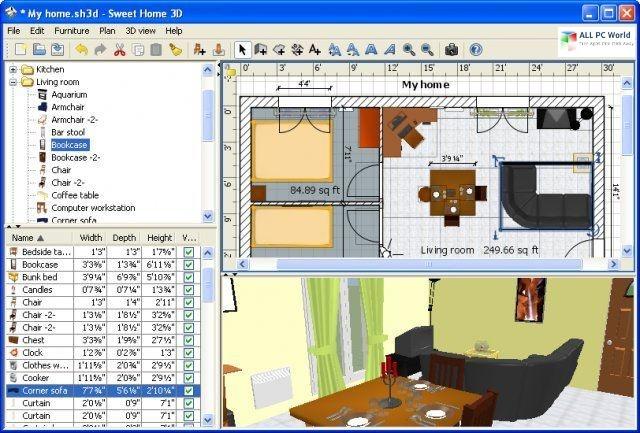 Sweet Home 3D 2020 v6.3 Free Download