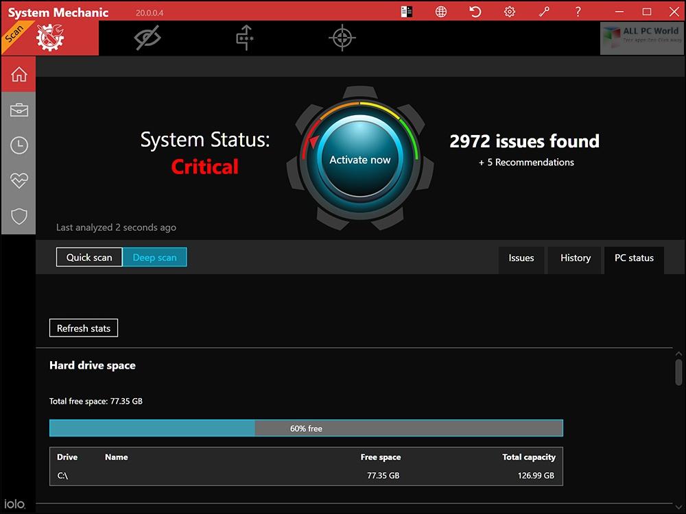 System Mechanic Pro 2020 v20.5