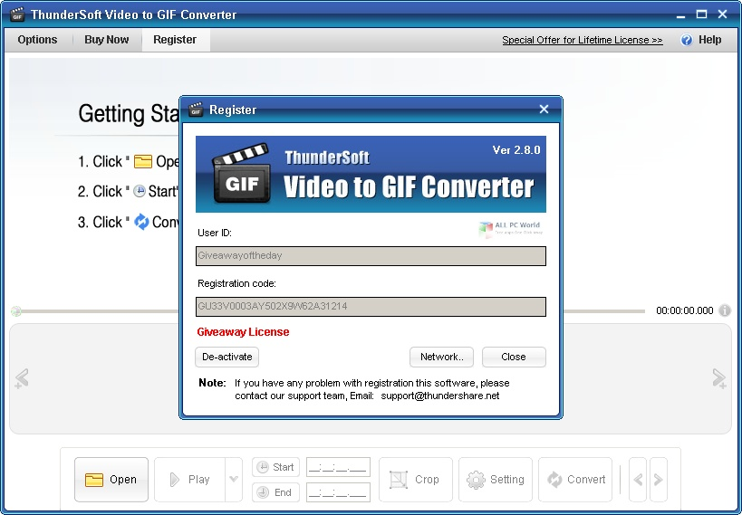 ThunderSoft GIF Converter 2020 Download