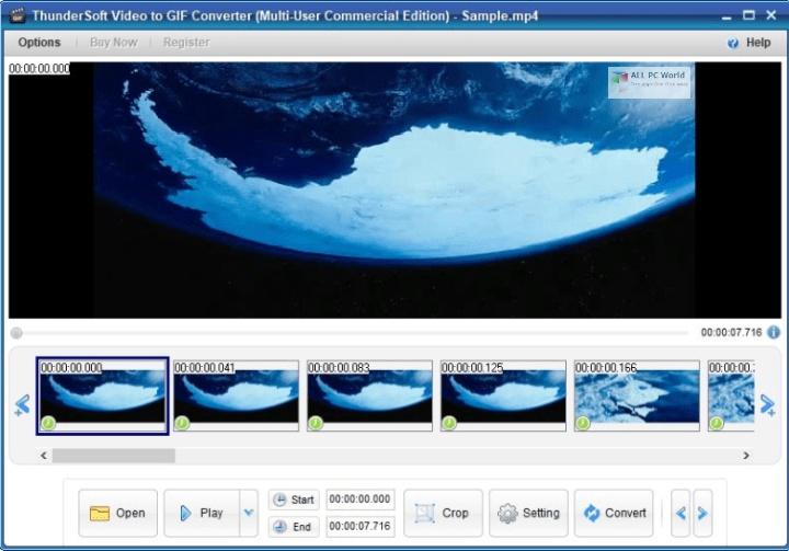 ThunderSoft GIF Converter 2020 for Windows 10
