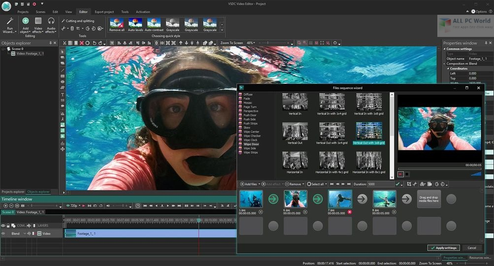 VSDC Video Editor Pro 6 Free Download