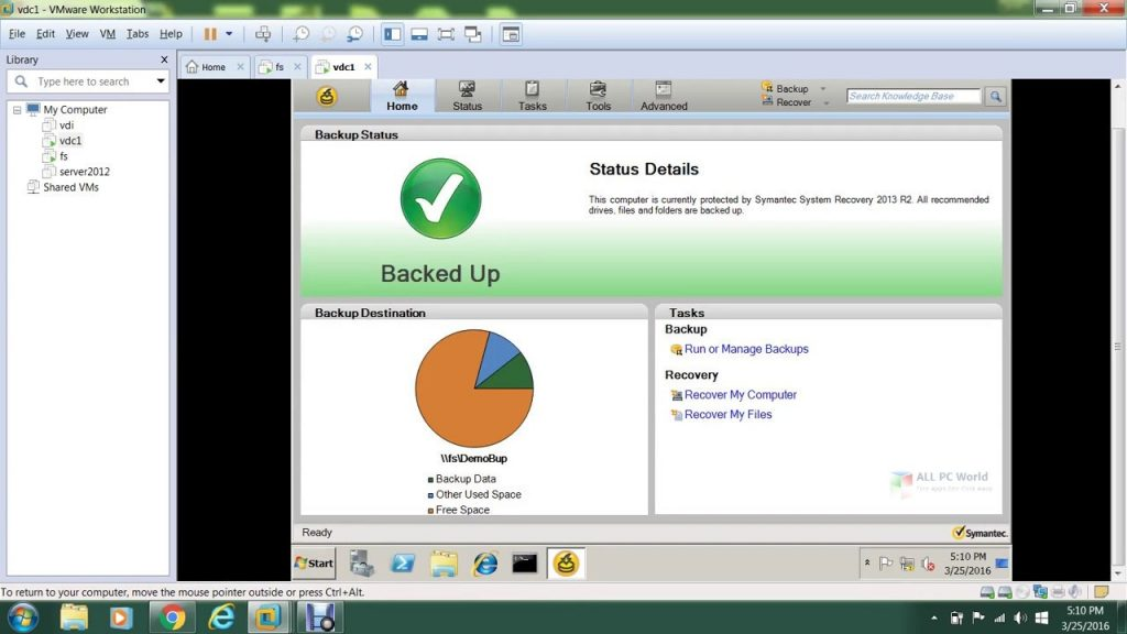 Veritas System Recovery 21.0 Download