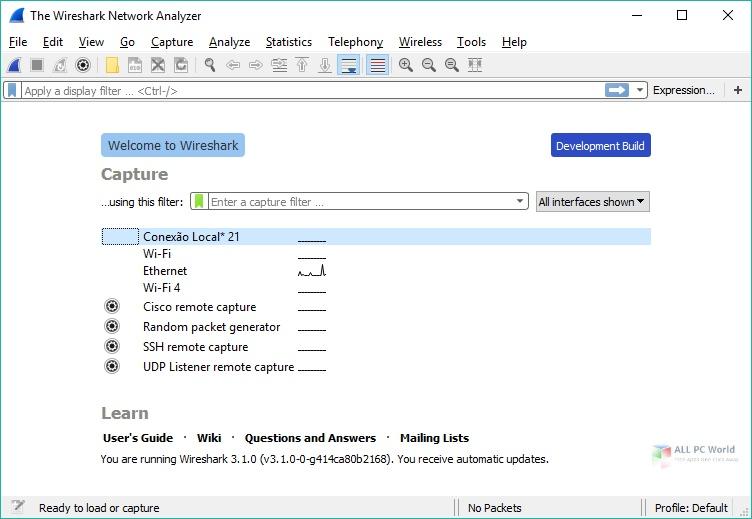 Wireshark 2020 v3.4.1 Free Download
