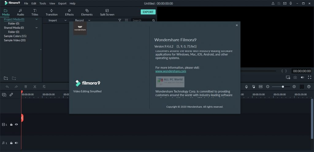 Wondershare Filmora 2020 v9.5.1 Download