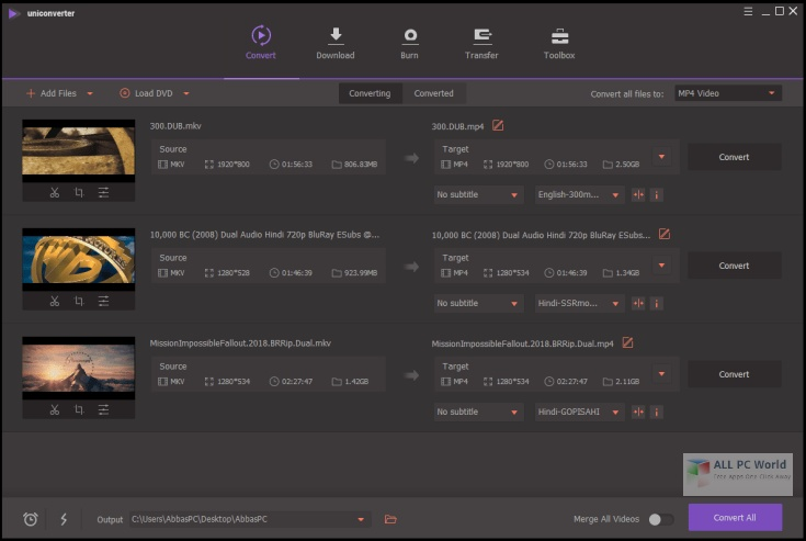 Wondershare UniConverter 12.0 Download